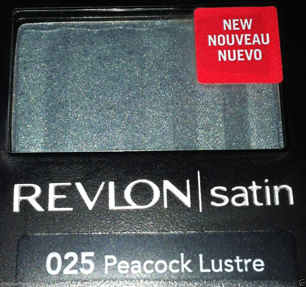 Revlon Satin Eye Shadow * 025 PEACOCK LUSTRE * Sealed Brand New