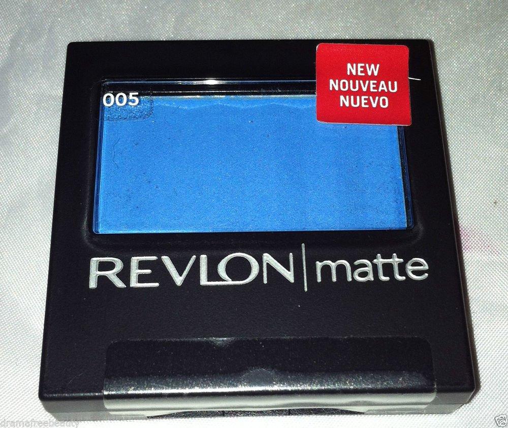 Revlon Matte Eye Shadow * 005 BLUE VENETIAN * Sealed Brand New