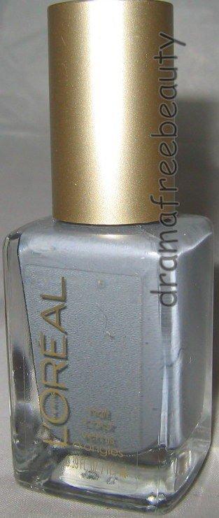 L'oreal Colour Riche Nail Polish 560 *GREYCIAN GODDESS* Neutral Blue/Grey B New