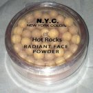 N.Y.C. Hot Rocks Radiant Face Powder * MOONLIGHT Pigment Balls New