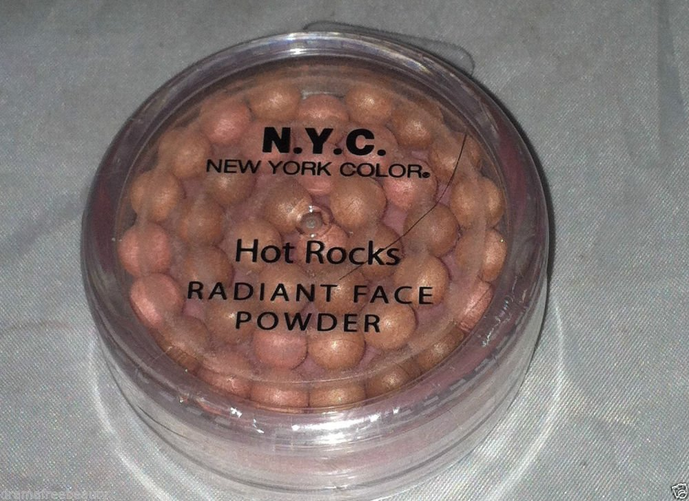 N.Y.C. Hot Rocks Radiant Face Powder * SEDONA CANYON * Brown/Pink Pigments New