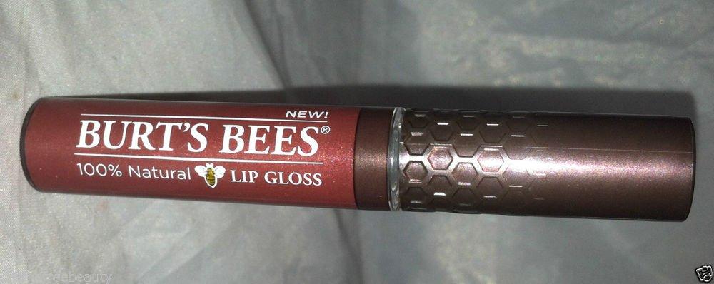 Burt's Bees 100% Natural Lip Gloss * 215 SWEET SUNSET * Brand New Sealed