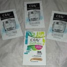 Olay Regenerist Luminous Tone Perfecting Cream Moisturizer 4pc Travel/Sample Lot
