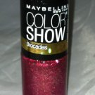 Maybelline Color Show Nail Polish Brocades * 795 RUBY REFINED * Red/Gold/Pink BN