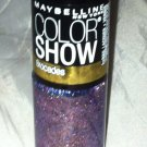 Maybelline Color Show Nail Polish Brocades * 750 LAVISHLY LILAC * Gold Shimmer