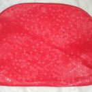 Sephora Red Honeycomb Design Zippered Makeup/Cosmetic  Case/Carrying Bag New
