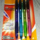 Bic Atlantis Ball Pen Fashion Colors 4pc Sealed Brand New Pink/Green/Blue/Purple
