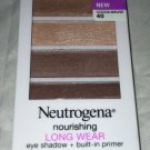 Neutrogena Nourishing Long Wear Eyeshadow + Built In Primer * 40 COCOA MAUVE *