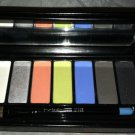 Mac Limited Ed. *HOLIDAZZLE 7 EYES: CORAL* Eyeshadow Palette w/Brush Rare & HTF