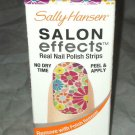 Sally Hansen Salon Effects Nail Polish Strips * 340 GIRL FLOWER * FLORAL New