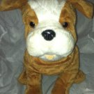 "Kohl's Cares 13"" Bulldog Plush Stuffed Toy Animal  * DEAR MR.S LARUE * EUC"