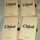 Chloe Eau De Parfum * CHLOE' * 4pc Travel/Sample Lot  Brand New