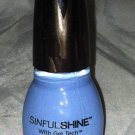 Sinful Shine Nail Polish w/Gel Tech * ALFRESCO * Medium Periwinkle Blue w/Purple