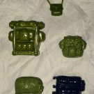 GI Joe Vintage Replacement Backpack 5pc Lot