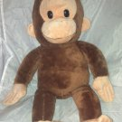 "Applause 17"" Curious George Plush Stuffed Toy Animal Excellent Condition"