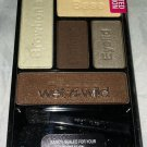 Wet n Wild 5 Color Icon Eye Shadow Palette 34496 *HAUTE HOLLYWOOD* Brown Sealed