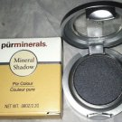 Pur Minerals Mineral Eye Shadow *GRAPHITE* Smoky Charcoal Gray BNIB Mirror Brush