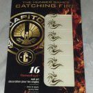 The Hunger Games Catching Fire Covergirl 105 TAWNY FLAME Gold Nail Art Stickers