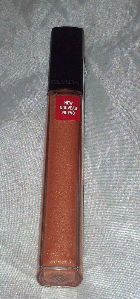 Revlon Colorburst Lip Gloss * 022 SUNSET PEACH *  Nude Peach  w/ Shimmer New