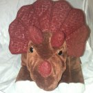 Kohl's Cares Triceratops Plush Stuffed Toy* HOW DO DINOSAURS SAY GOODNIGHT * EUC