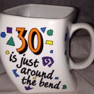 Dakin Stanley Papel Around the Bend Fun Coffee Mug *30th BIRTHDAY* 30 is a Hot #