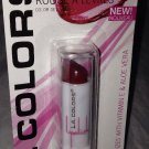 L.A. Colors Lip Color Moisture Lipstick BLC3 *LUSCIOUS WINE* w/Vitamin E & Aloe