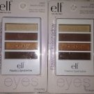 2 X e.l.f. Flawless Eyeshadow Palette Quads Smoky Warm 21621 *BEAUTIFUL BROWNS*