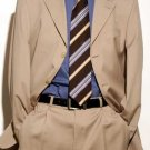 Light Beige premeier quality italian fabric Super 150 Wool Mens Dress Suit