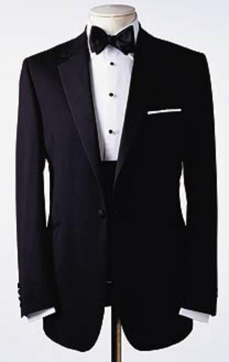 Amazing Quality Beautiful Design One 1 Button Tuxedo Super 150's premeier quality italian fabric