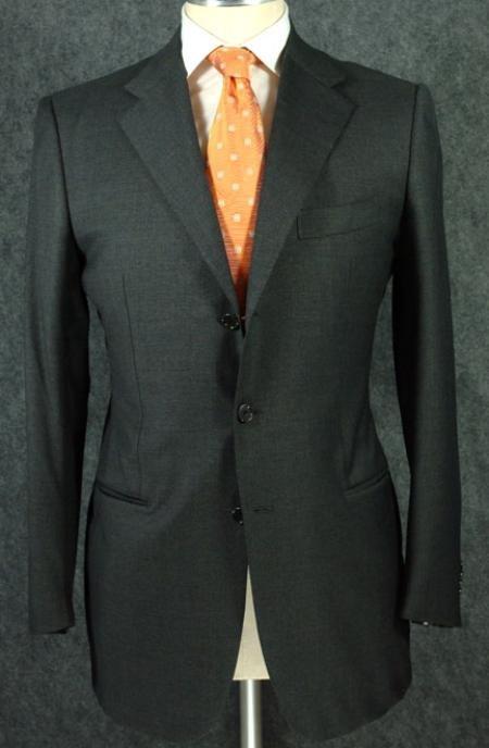 Dark Olive Green Super 150's Wool premeier quality italian fabric Design.