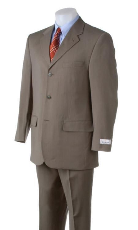 Light Green~Sage 3 Buttons Summer Light Weight Soft Fabric Suit