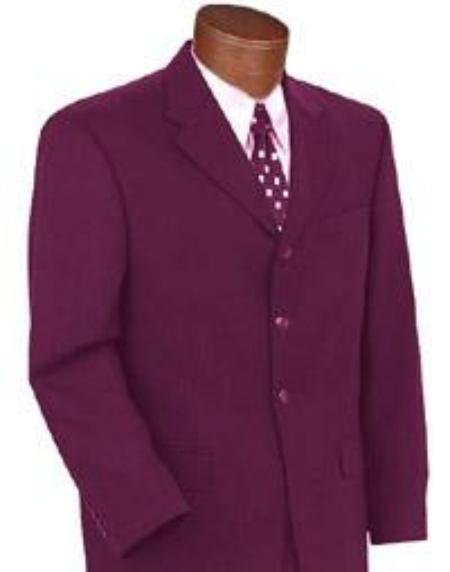 Alberto Brand New Burgundy Color Suit