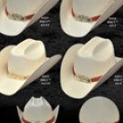 Durango Style Western Cowboy Straw Hats