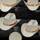Norma Style Western Cowboy Straw Hats