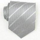 Silk Grey Woven Necktie