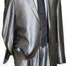Utex Shiny 2 Button Silver Tnt Sharkskin Mens Suit