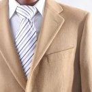 MenS 2 Button Lamb Wool Cashmere Sport Coat Camel