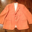 Men'S Orange Blazer