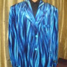 Men'S Flame Jacket/Blazer In Blue