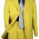 Sharp Looking 2Pc Men 3B Dress Suit Mustard