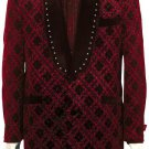 Mens Fashionable Red Zoot Suit