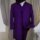 Classic Long Dark Purple Fashion Zoot Suit