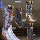 Los Altos Xxx-Toe Genuine Ostrich Leg Mens Western Cowboy Boot Diff.Colors/Sizes