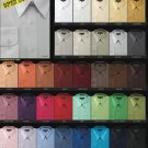 Men'S Basic Normal 65%Poly 35%Cotton Dress Shirt In 34 Colors