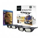 Sony 3D Narnia Bundle and (2) 3D Active Glasses