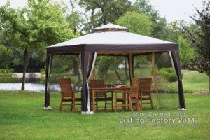 Living Accents 10x10 Gazebo