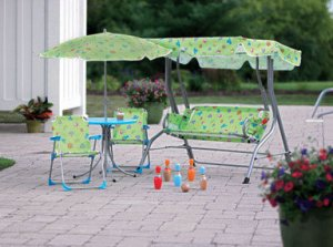 Kids 4 Piece Patio Set