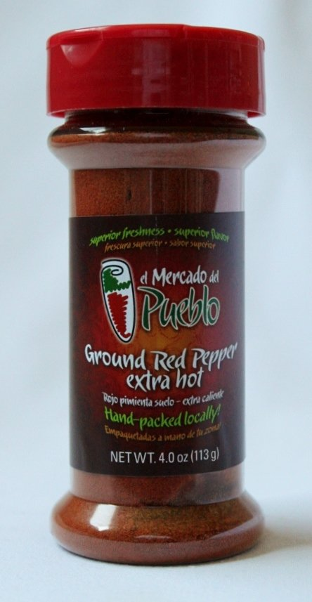 Ground Red Pepper, 4 Oz (Hot)