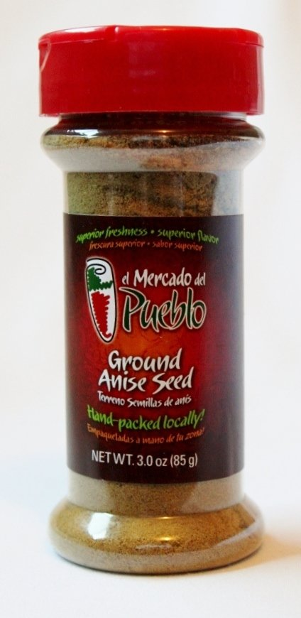 Ground Anise Seed, 3 Oz
