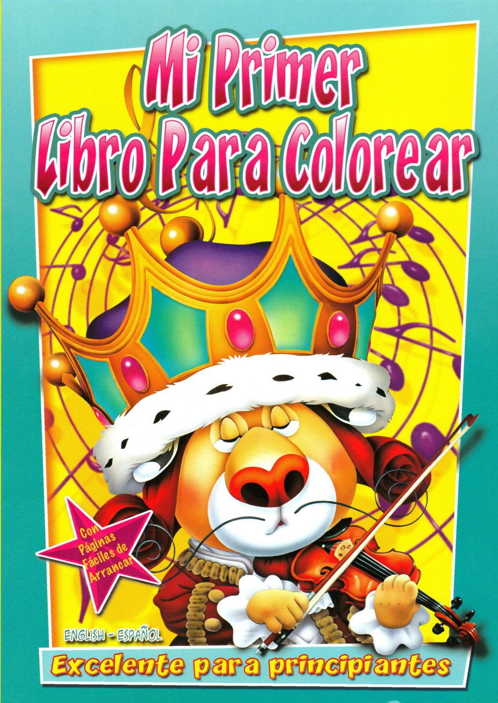 Mi Primer Libro Para Colorear